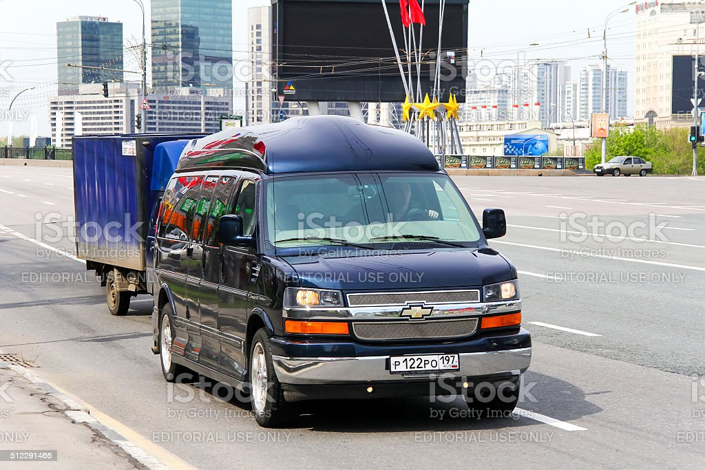 Chevrolet Express stock photo
