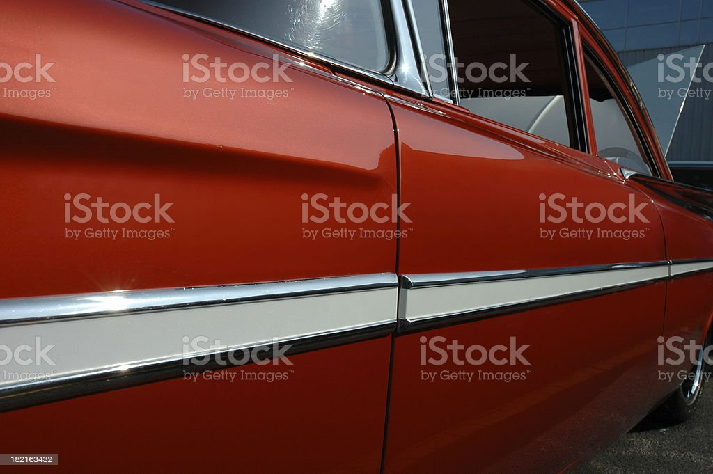 Chevrolet Impala 1959 - side view royalty-free stock photo