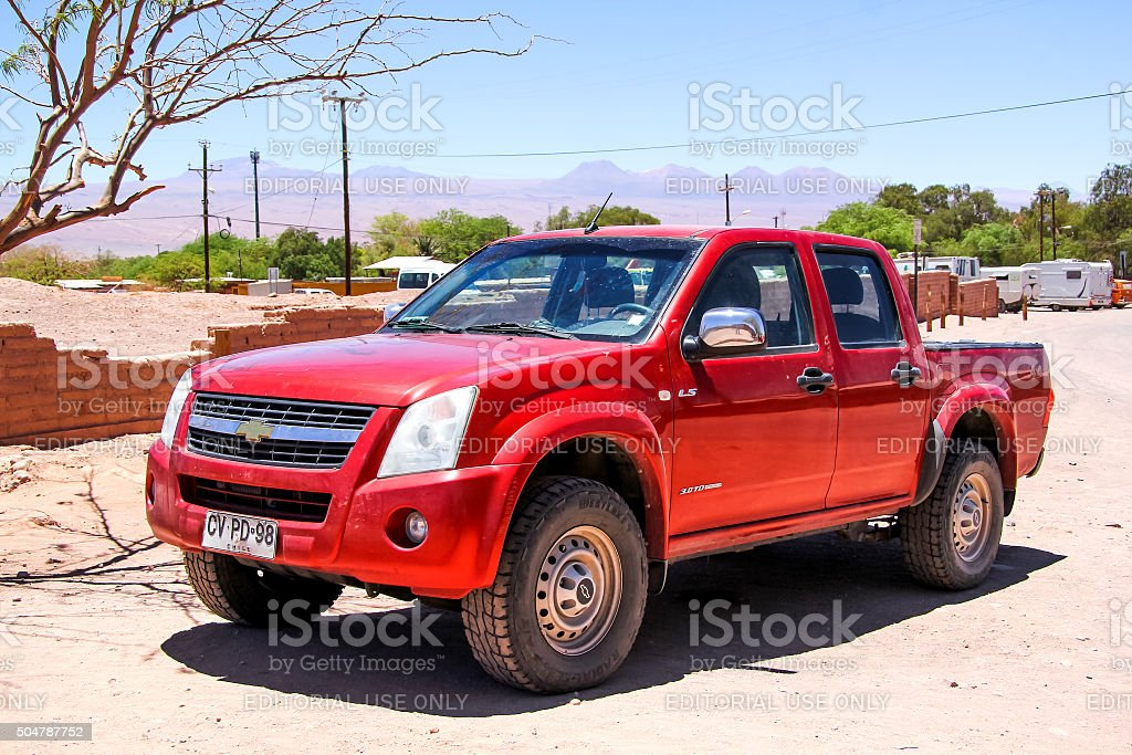 Chevrolet LUV D-Max stock photo
