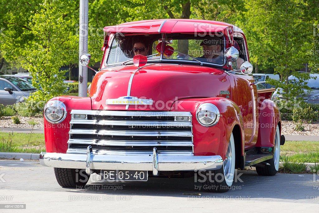 1951 Chevrolet Pick-up stock photo