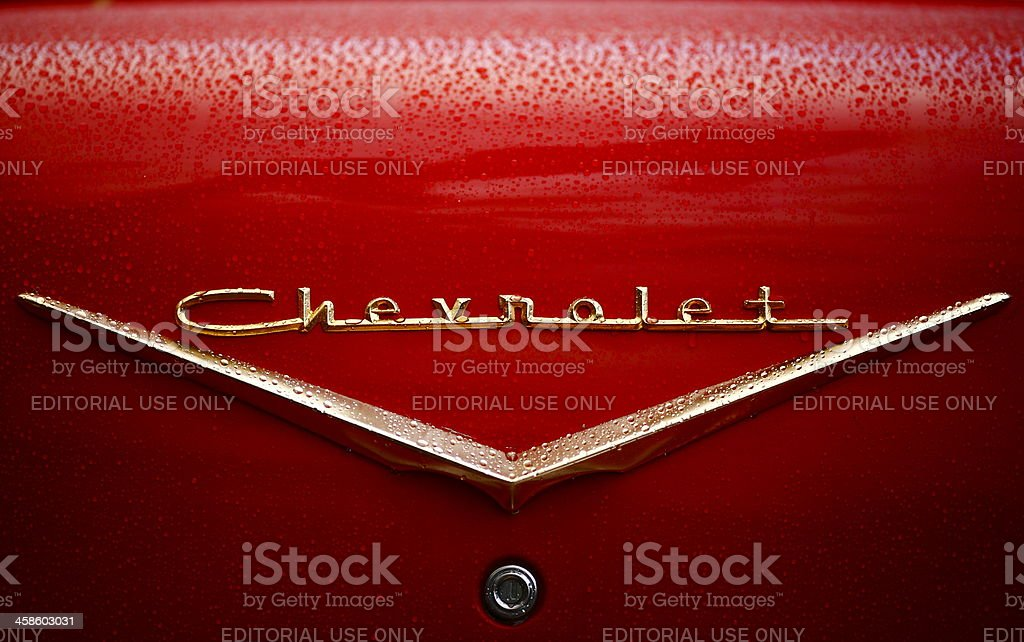 Chevrolet royalty-free stock photo
