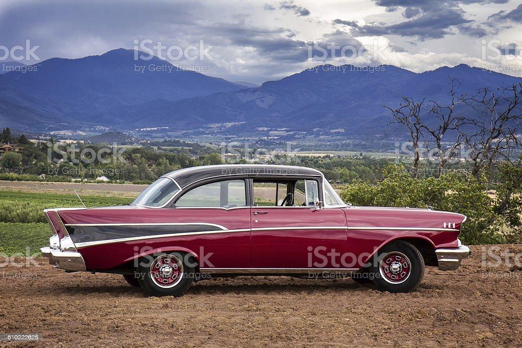 1957 Chevrolet stock photo