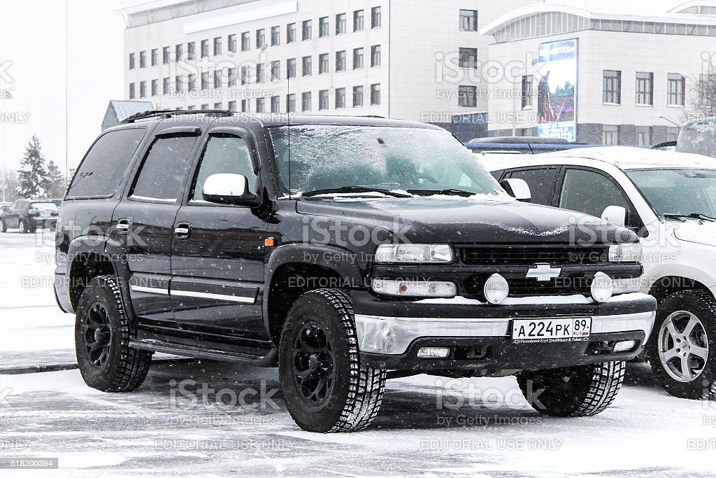 Chevrolet Tahoe stock photo