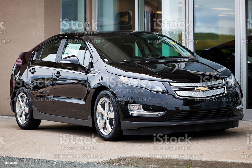 Chevrolet Volt royalty-free stock photo