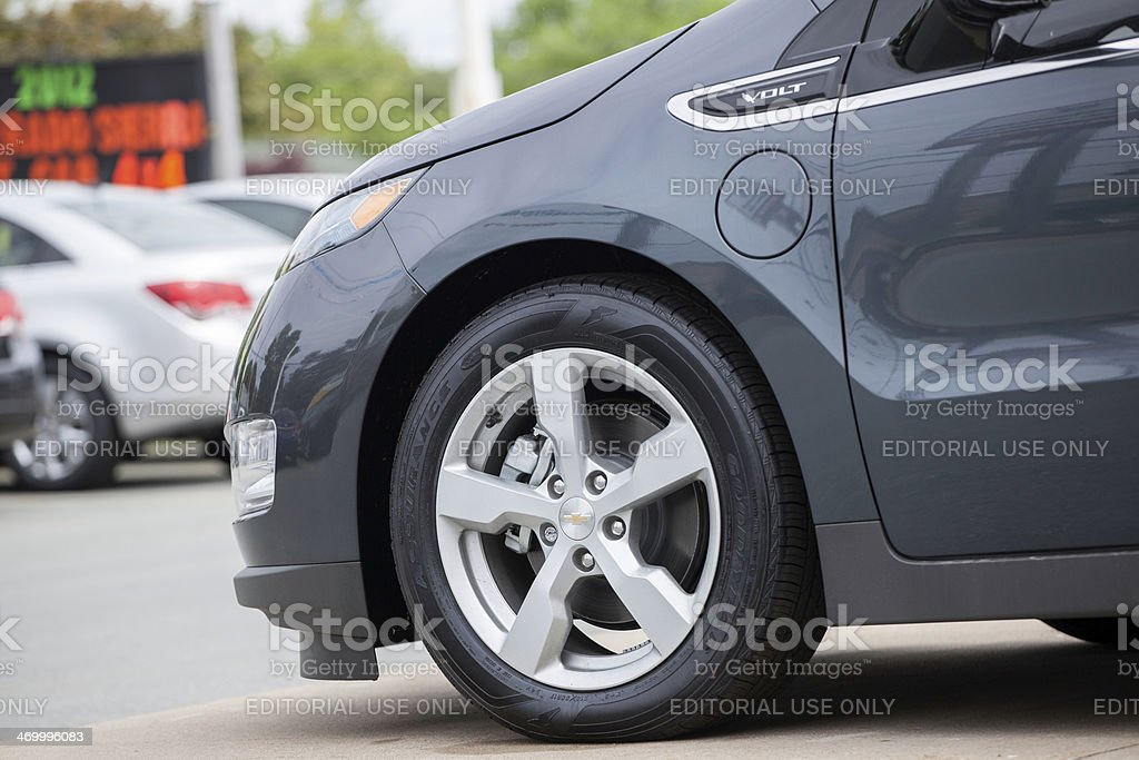 Chevrolet Volt stock photo