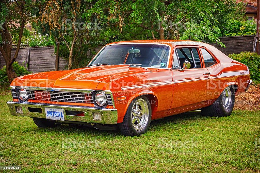 1972 Chevrolet Yenko Nova stock photo
