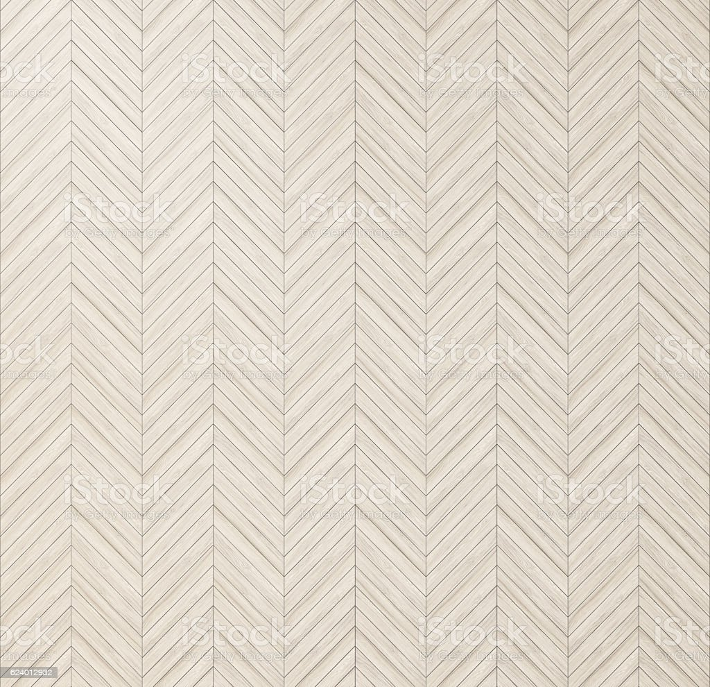 Chevron herringbone natural parquet, floor texture stock photo