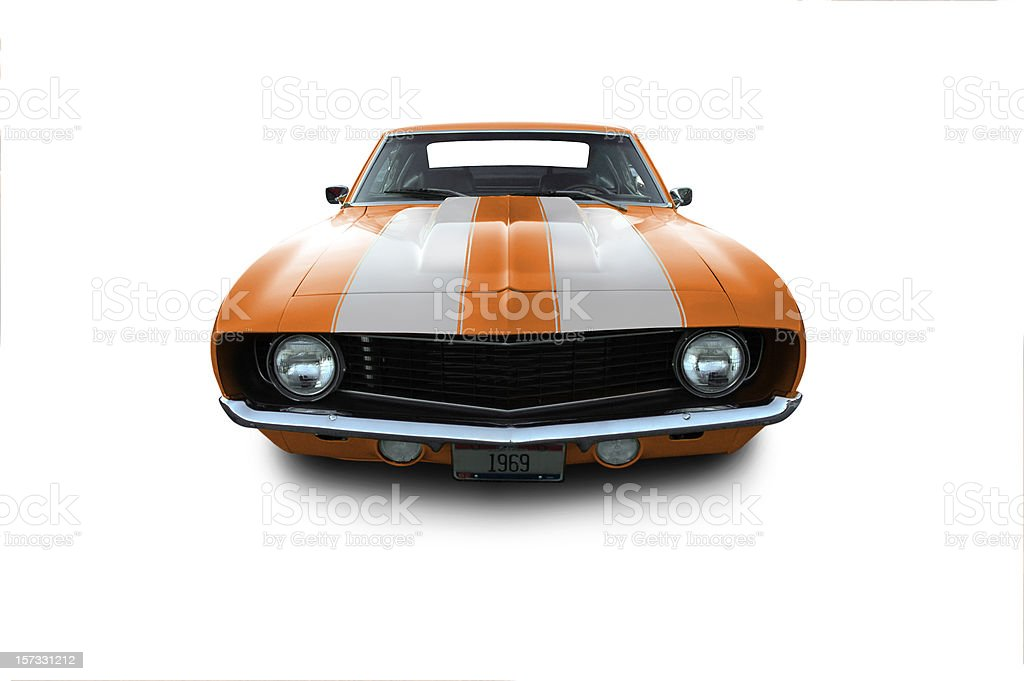 Chevy Camaro from 1969 royalty-free stock photo