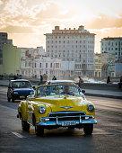 Chevy convertible in Havana, Cuba
