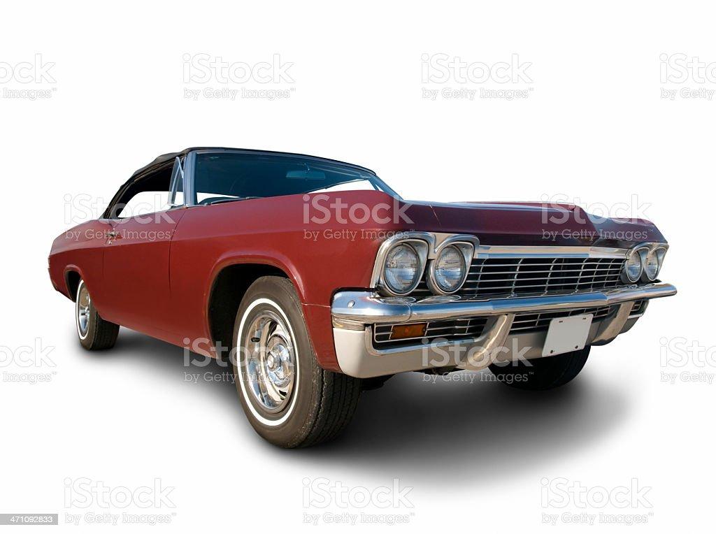 Chevy Impala - 1965 royalty-free stock photo