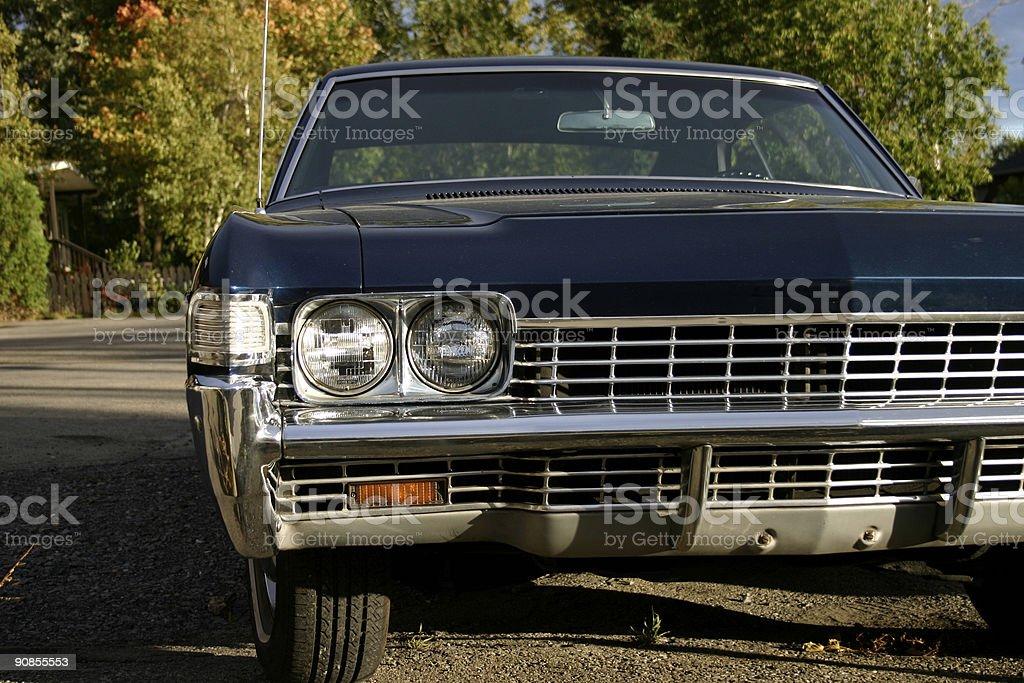 Chevy Impala Grill stock photo
