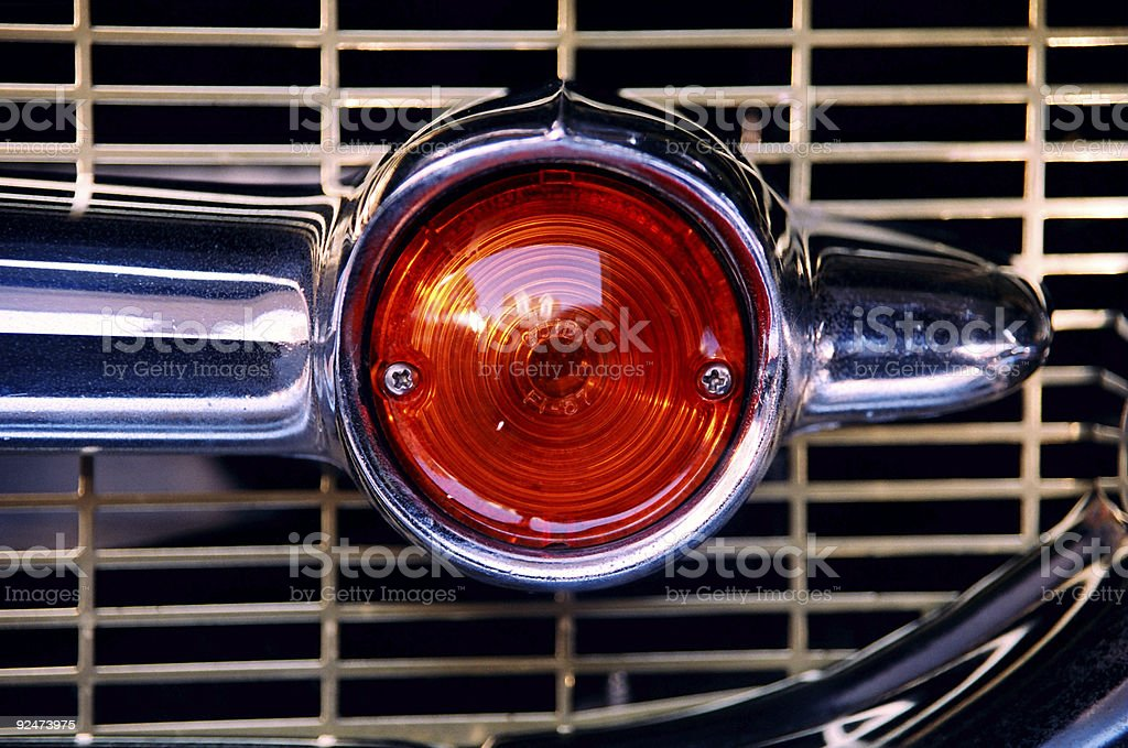 chevy light '57 royalty-free stock photo