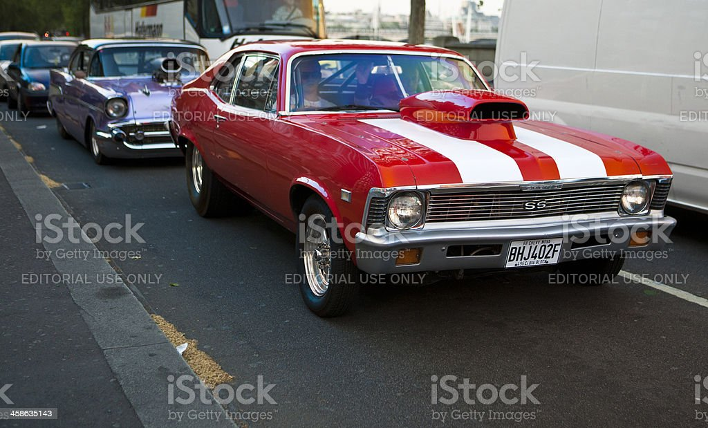 Chevy Nova 1968  SS royalty-free stock photo