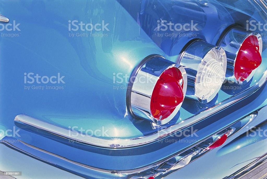 Chevy Tailights stock photo