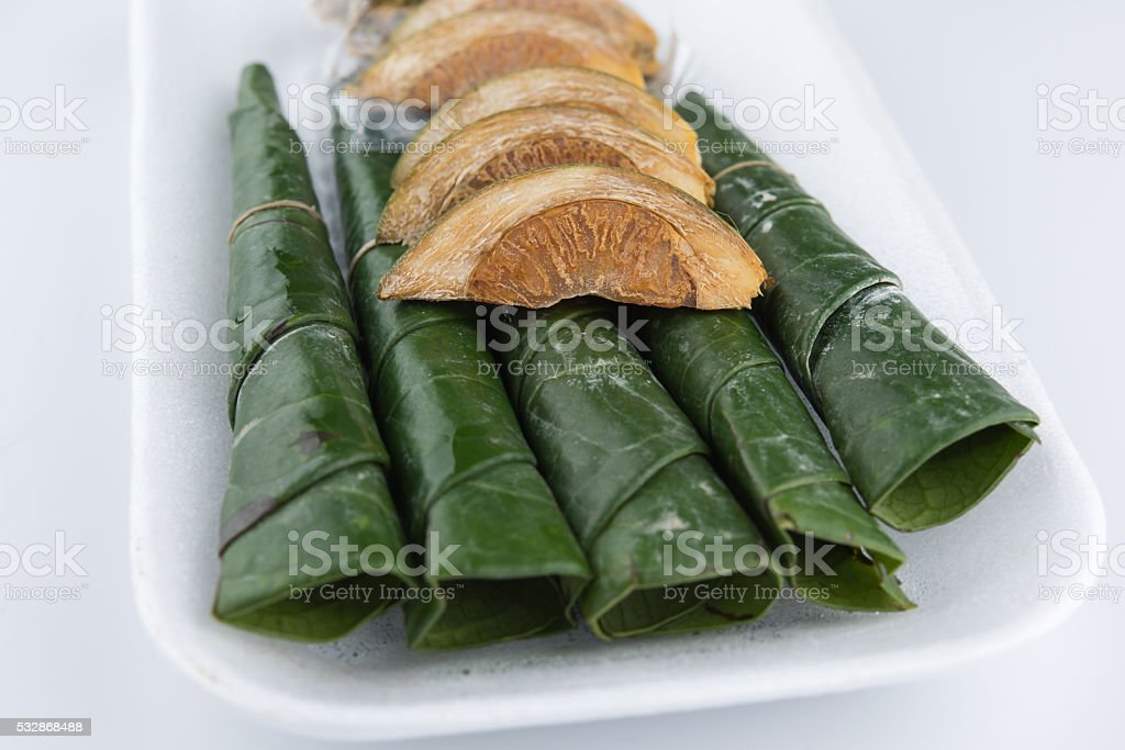 Chewing betel nut and betel leaf stock photo