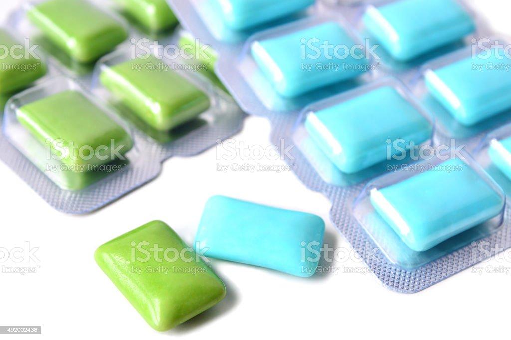 Chewing gum stock photo