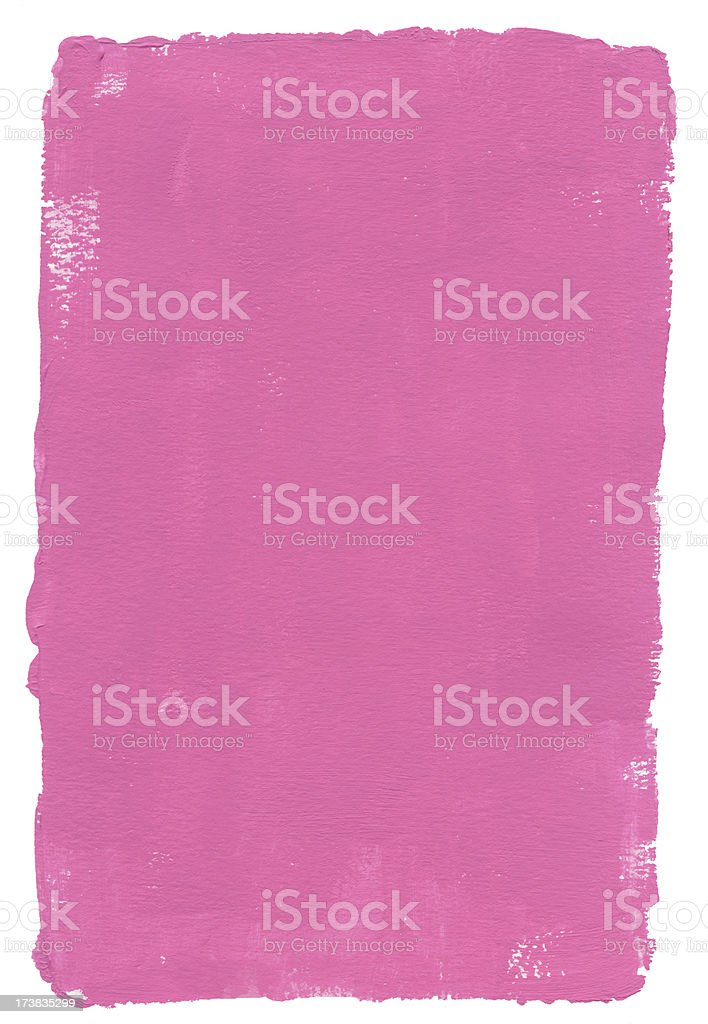 Chewing gum Pink Frame stock photo
