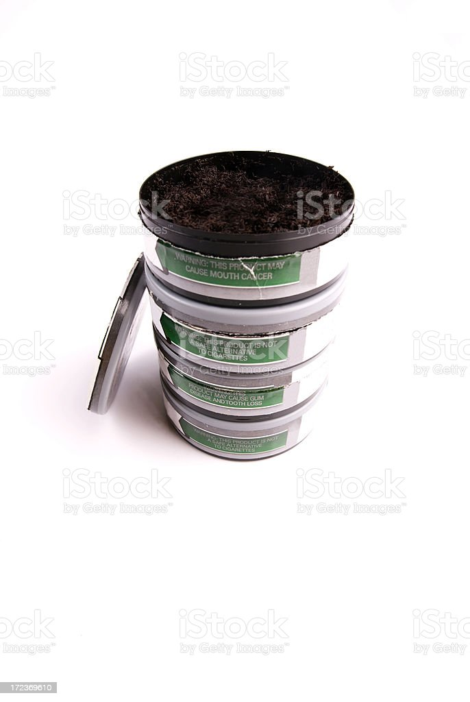 Chewing Tobacco stock photo