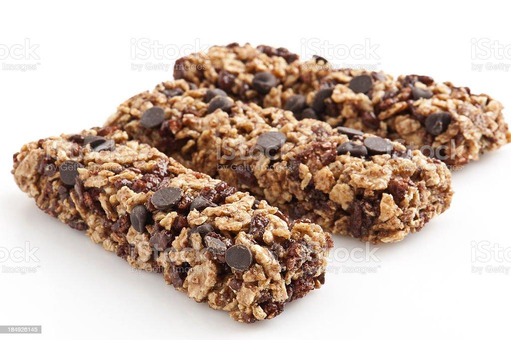 Chewy granola bars stock photo