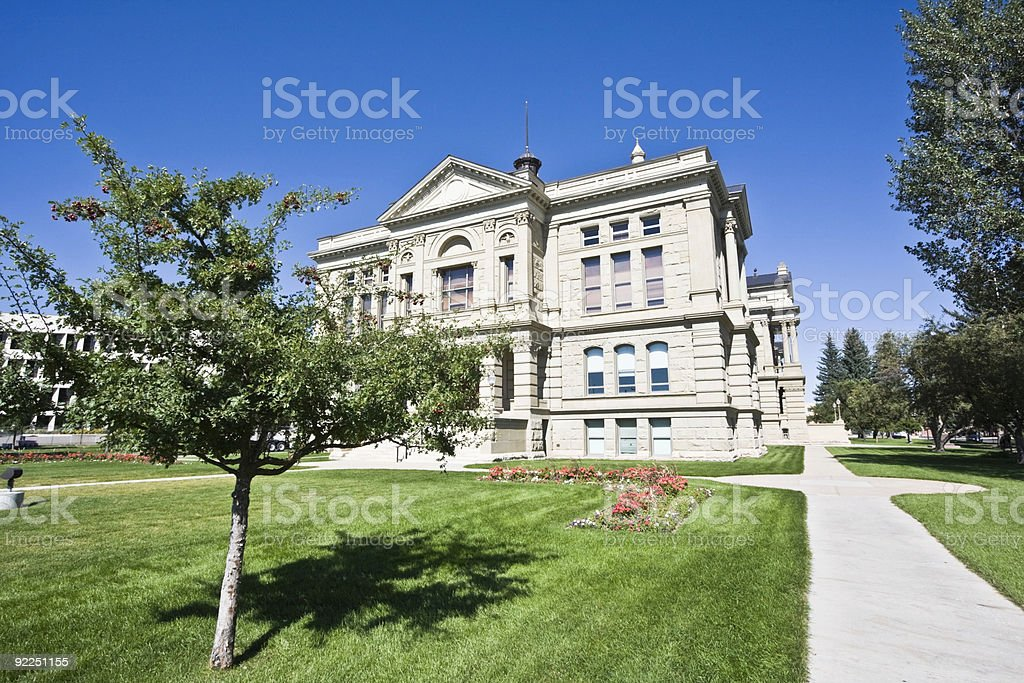 Cheyenne, Wyoming - State Capitol royalty-free stock photo