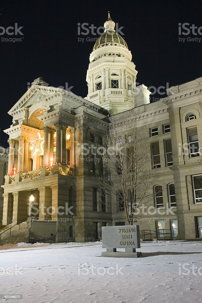 Cheyenne, Wyoming - State Capitol stock photo