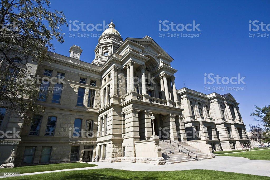 Cheyenne, Wyoming - State Capitol royalty-free stock photo