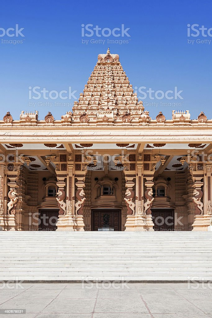 Chhatarpur Temple stock photo