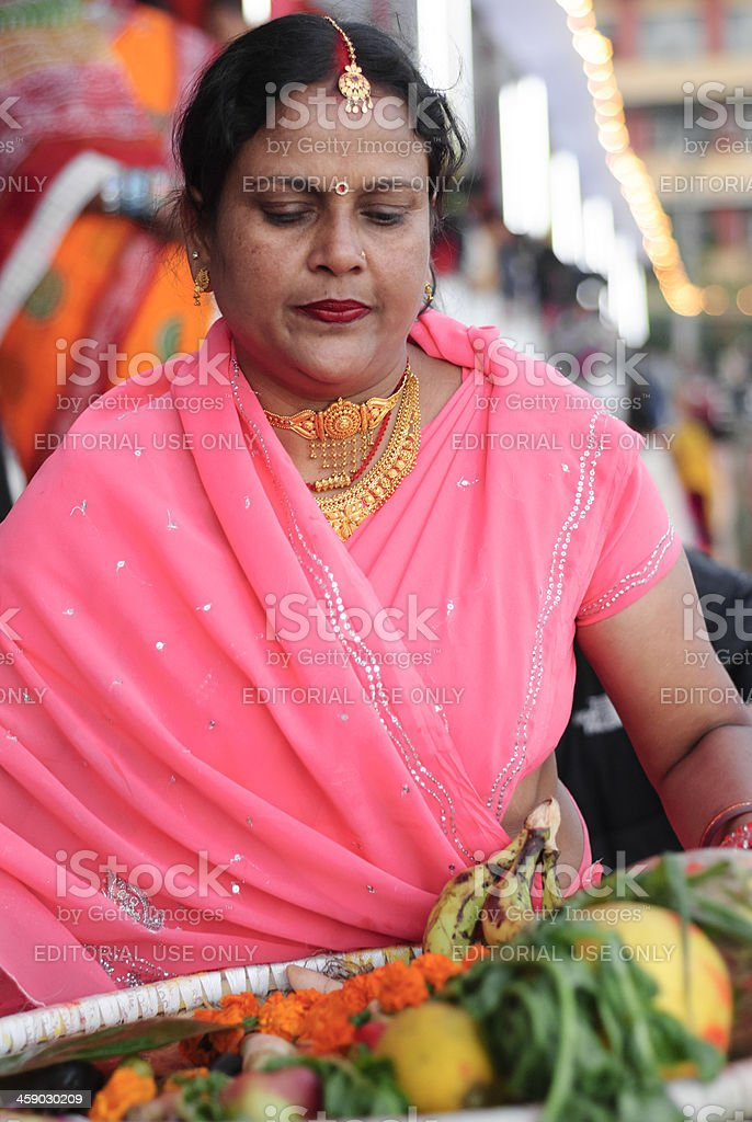 Chhath Festival royalty-free stock photo