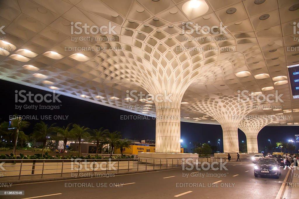 Chhatrapati Shivaji International Airport in Mumbai, India stock photo