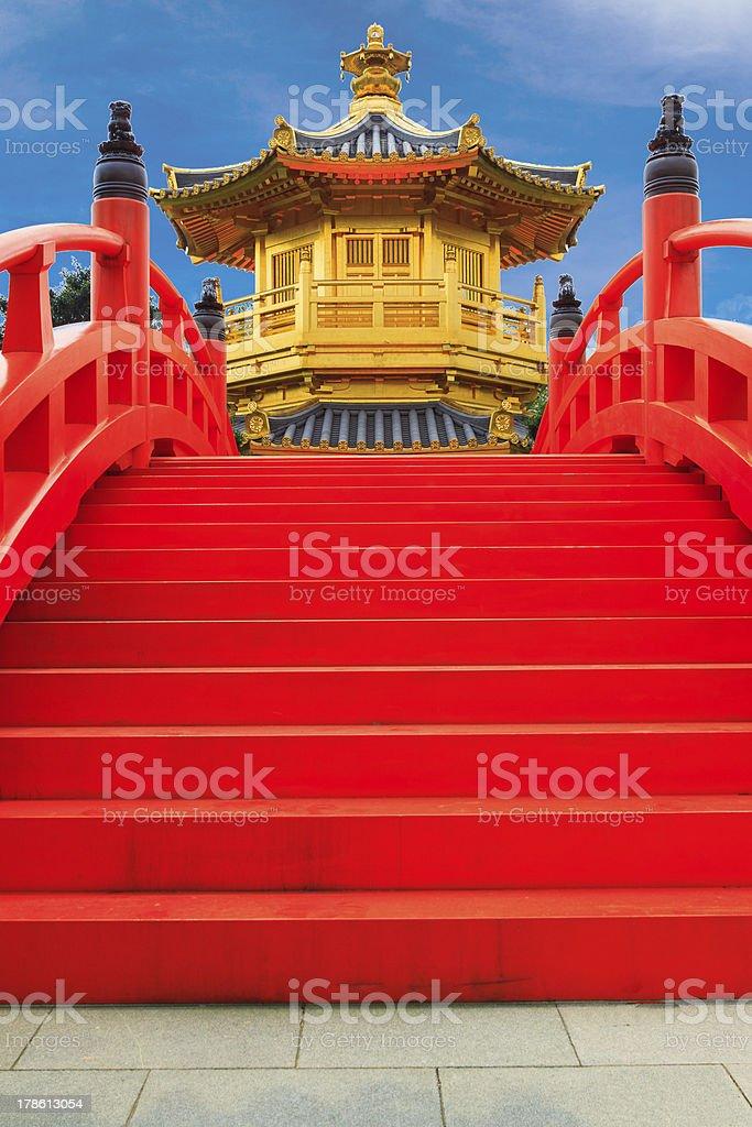 Chi lin Nunnery, Hong Kong royalty-free stock photo