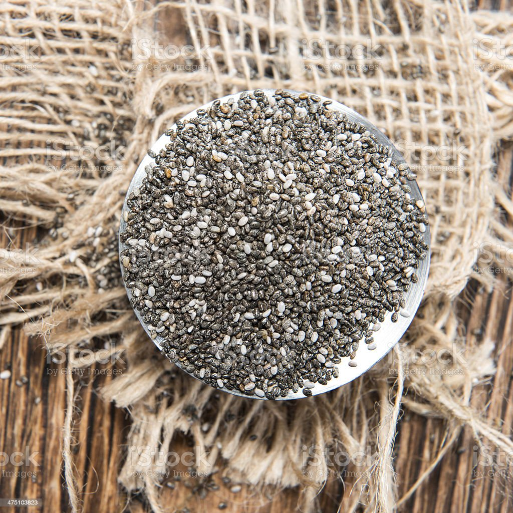Chia Seeds royalty-free stock photo