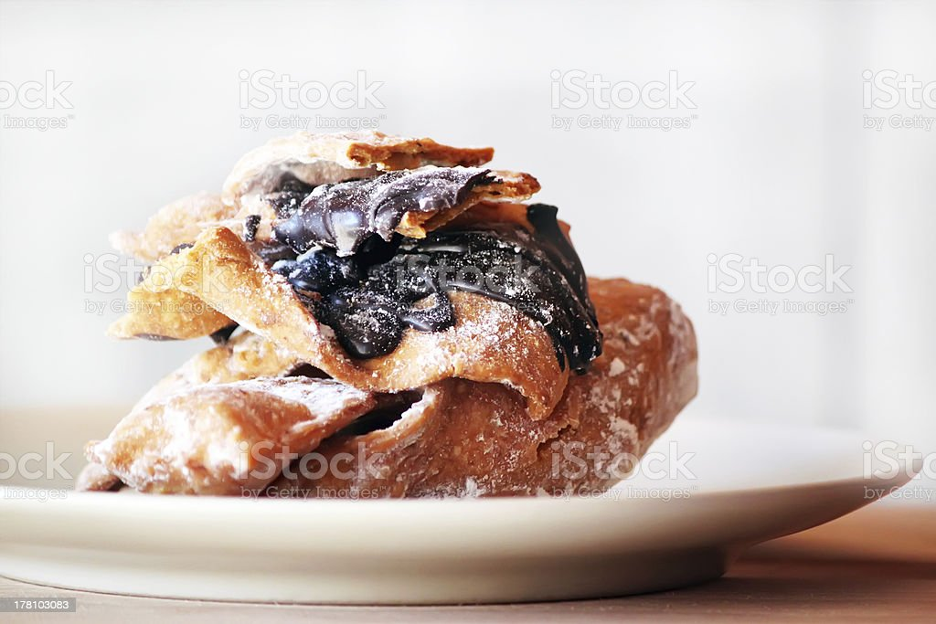 Chiacchiere royalty-free stock photo