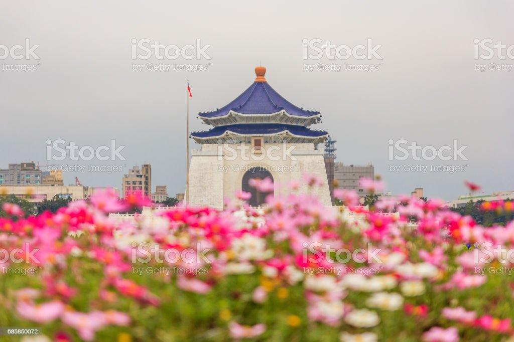 Chiang Kai Shek memorial hall, Taiwan. stock photo