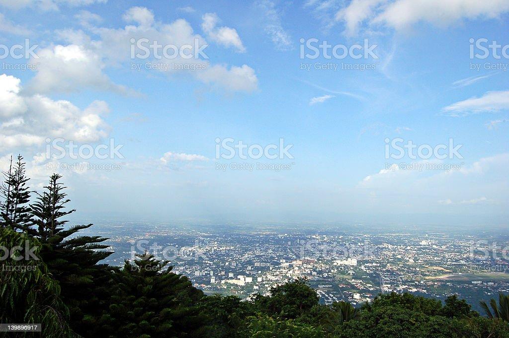 Chiang Mai city stock photo