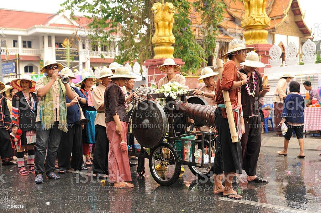 Chiang Mai Songkran festival 2013 stock photo