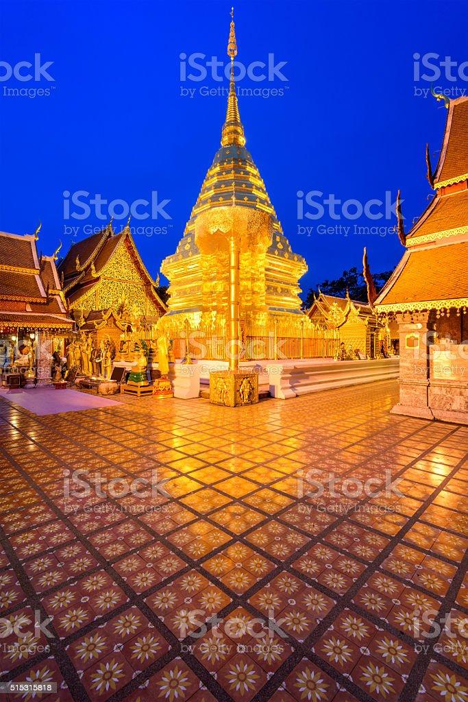 Chiang Mai Temple stock photo
