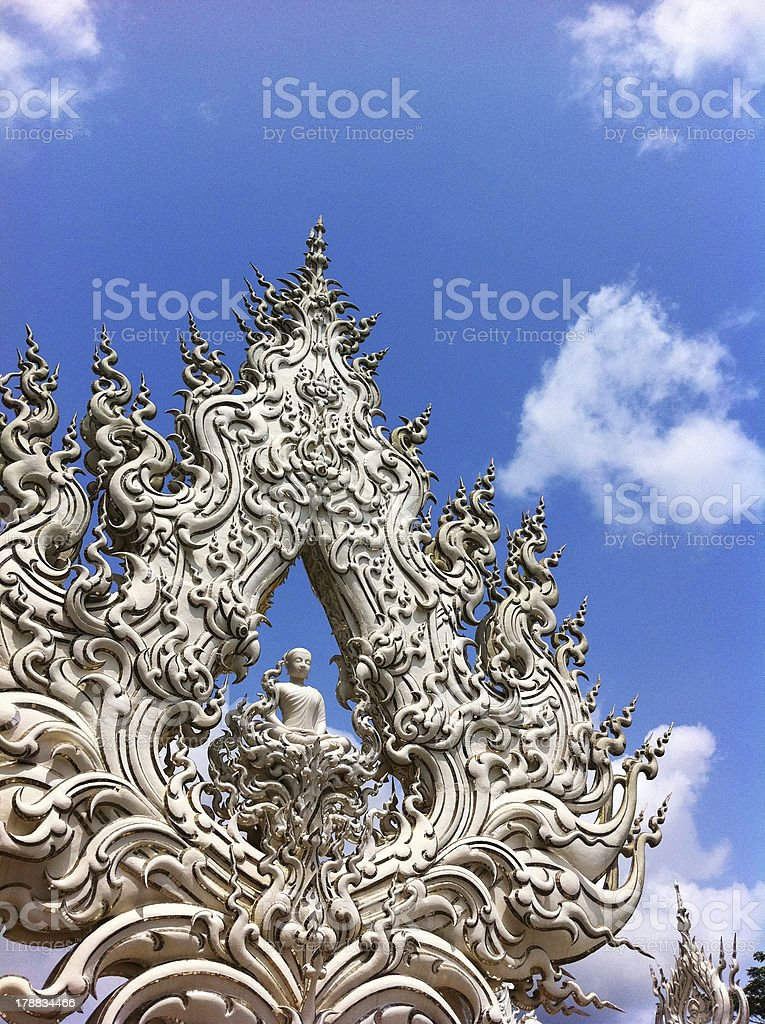 Chiangrai Buddhism Sculpture royalty-free stock photo