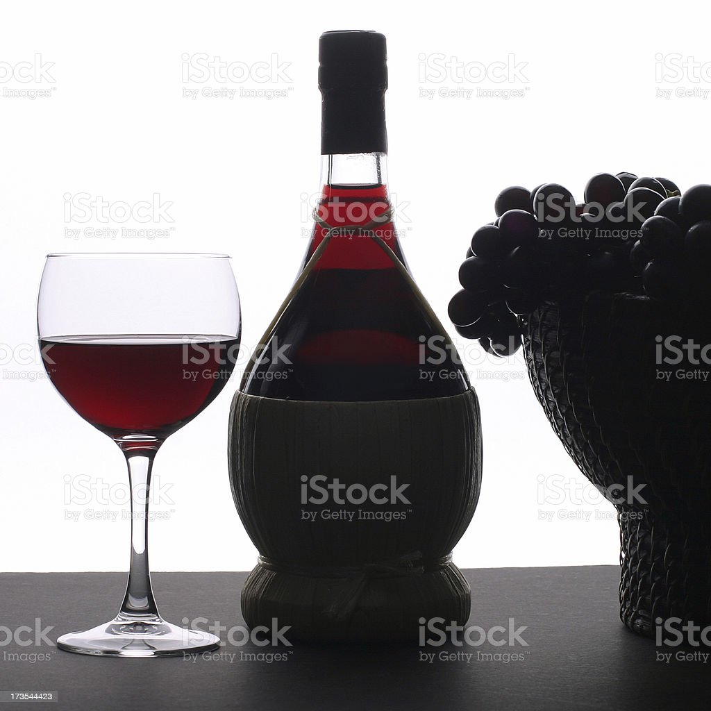 Chianti Composition royalty-free stock photo