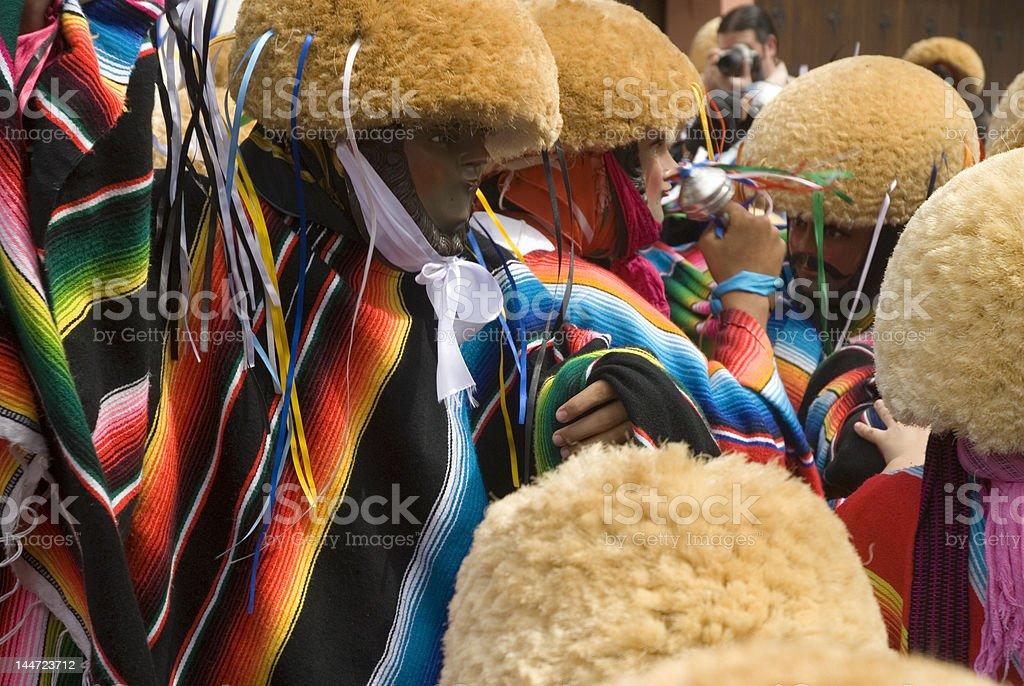 Chiapa de corzo carnival Mexico stock photo