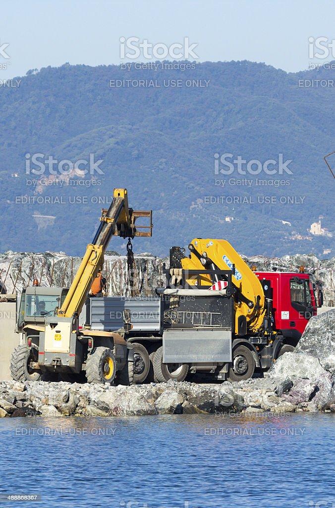Chiavari in Liguria, Italy royalty-free stock photo