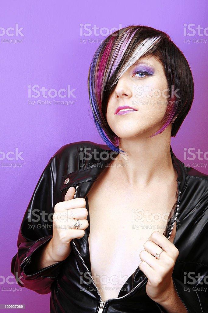 Chic Attitude royalty-free stock photo