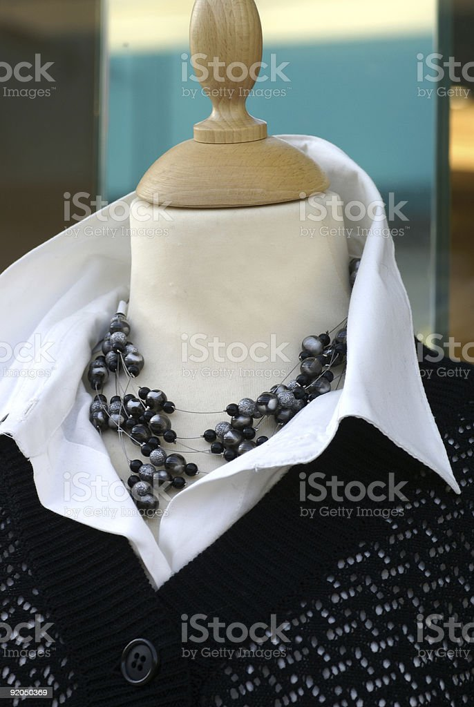 Chic clothes. royalty-free stock photo