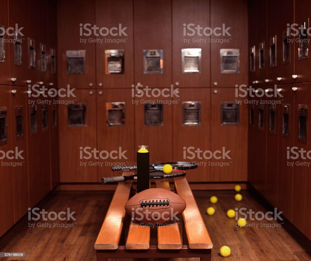 chic dressing room stock photo