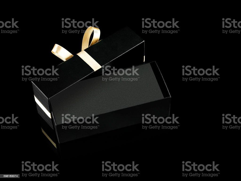 Chic Gift box stock photo