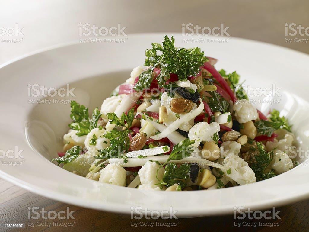 chic salad stock photo