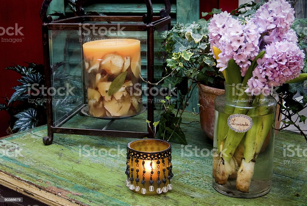 Chic Sun Room Decor royalty-free stock photo