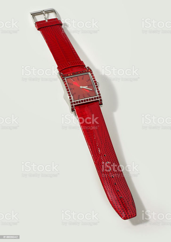 Chic women's watch stock photo