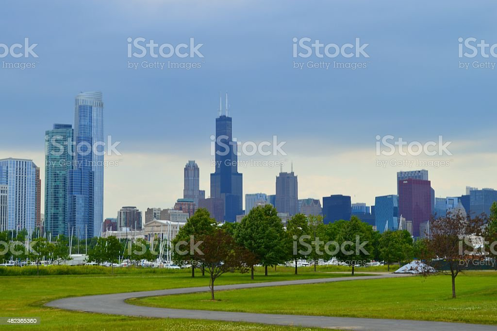 Chicago 9 photo libre de droits