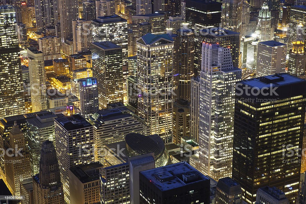 Chicago Architecture. royalty-free stock photo