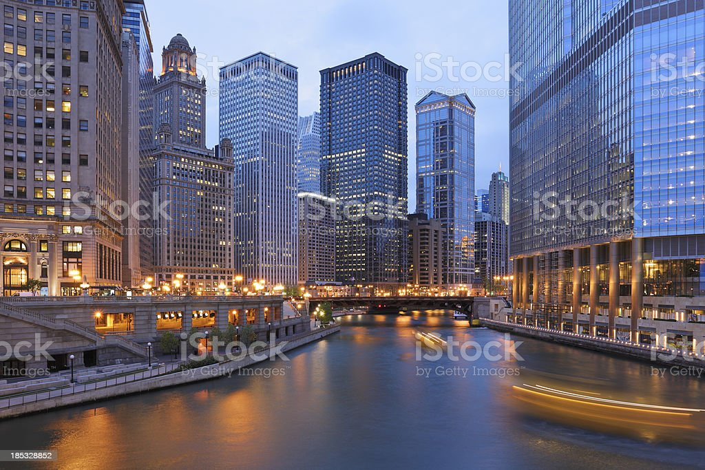 Chicago Architecture royalty-free stock photo